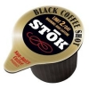 SToK Caffeinated Black Coffee Shots, 264-Count, New